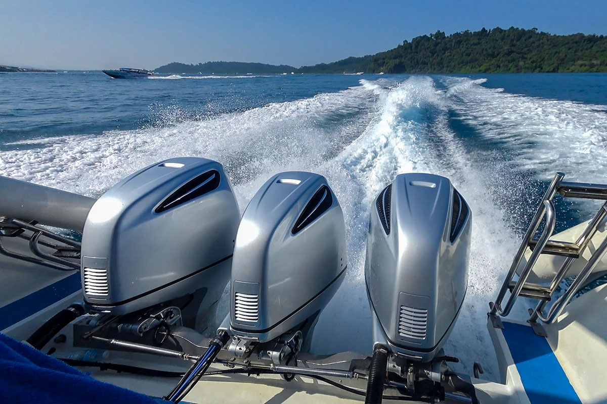 Boat engines are usually more reliable than jet ski engines