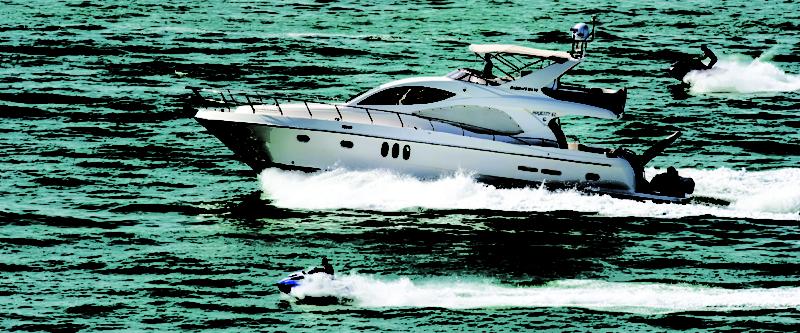 Jet ski vs boat