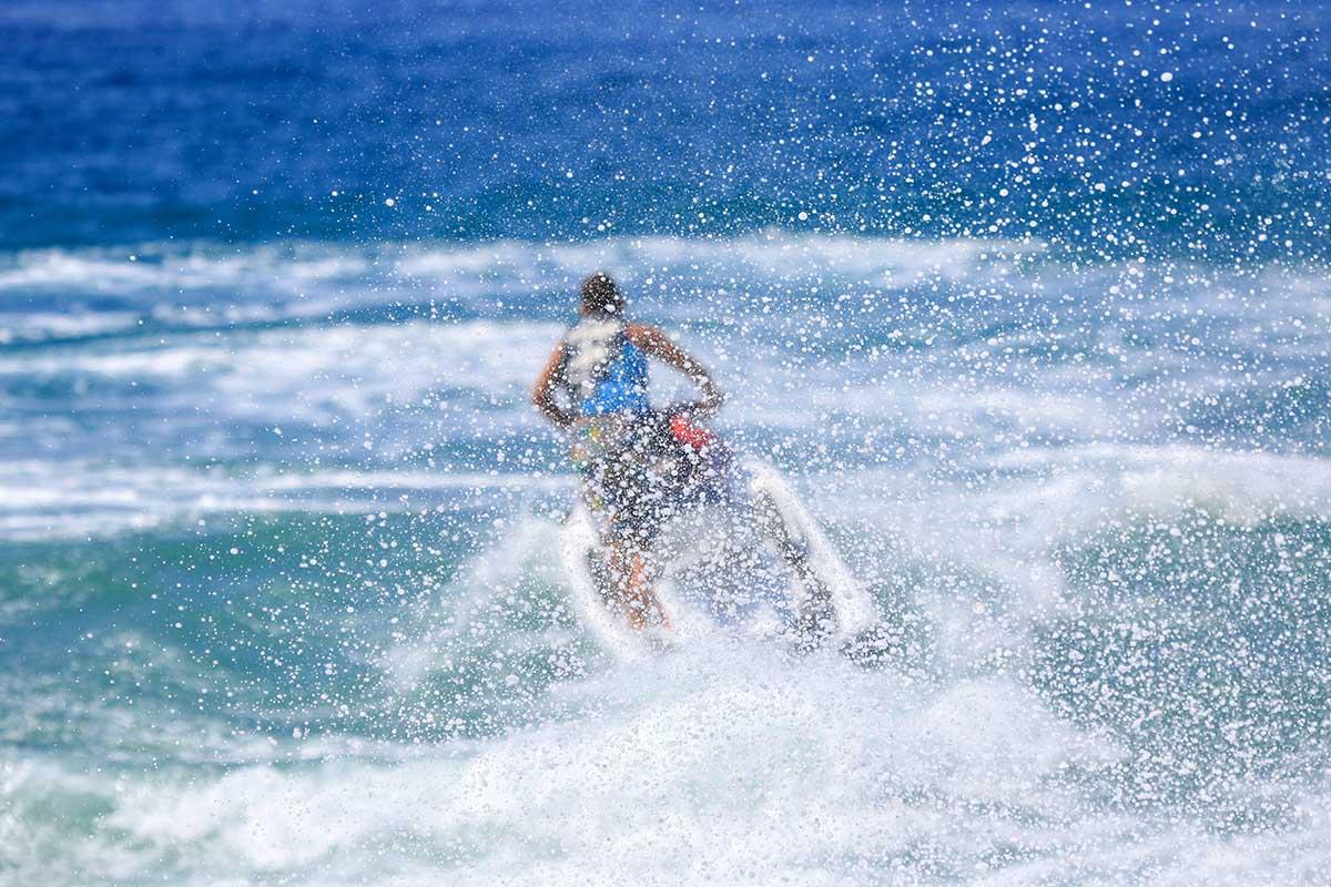 Jet ski wakeboarding issues#3: Jet Spray