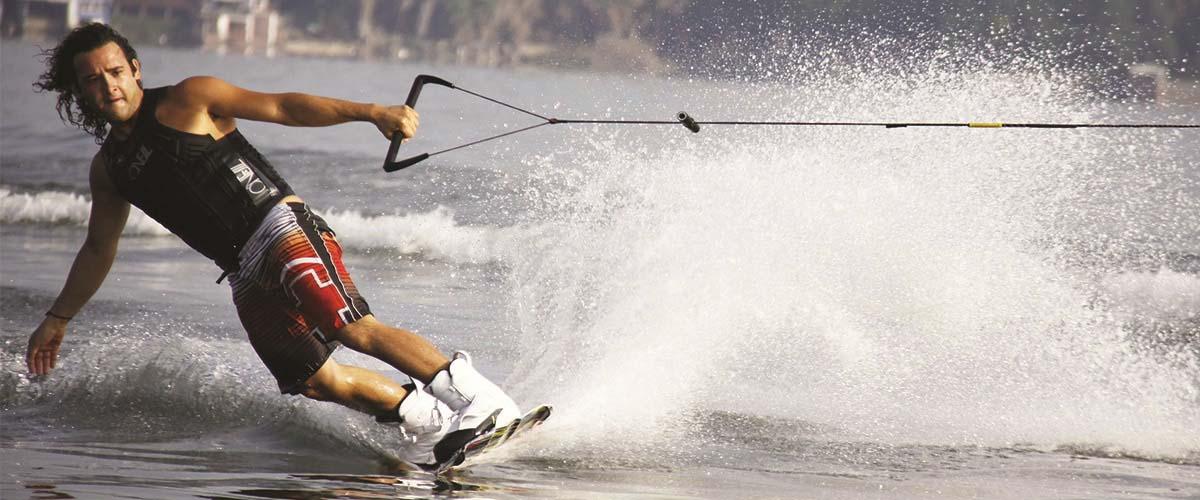 Jet ski wakeboarding