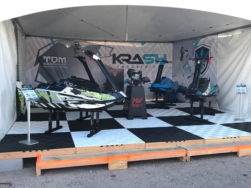 Discover and ride Krash watercrafts at Pro Watercross National Recreational Tour!