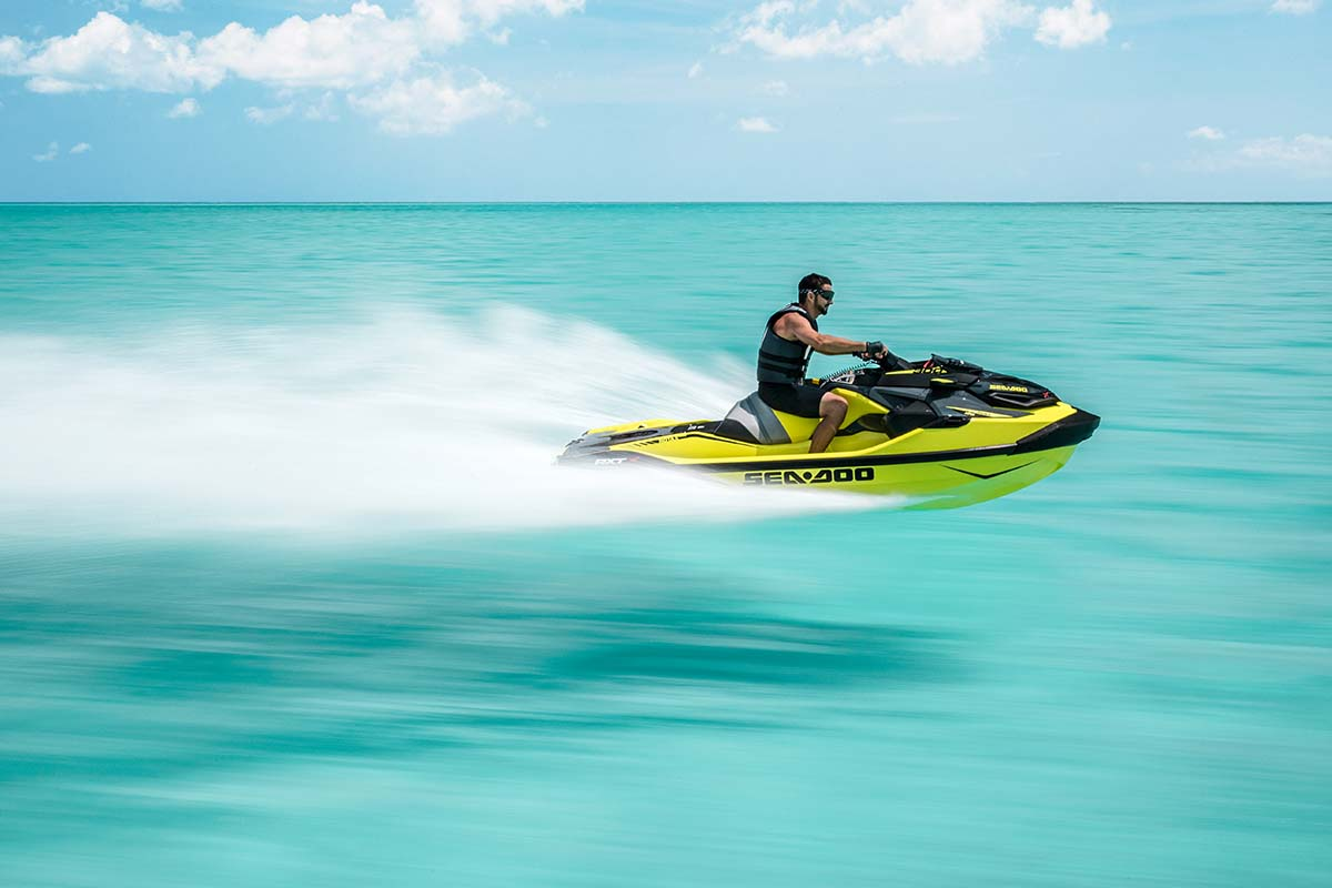 Sea-Doo RXT-X offers the best power to weight ratio in the