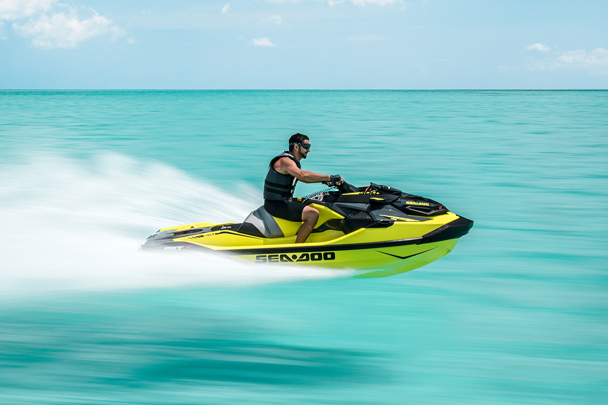 RXT-X 300: One of the fastest Sea-Doo on the market