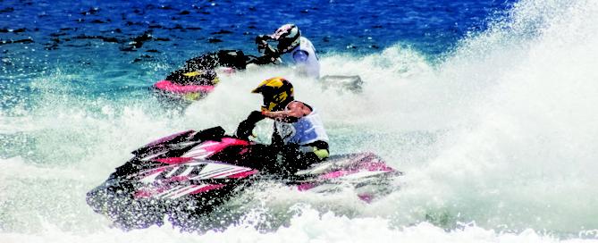Jet ski horsepower