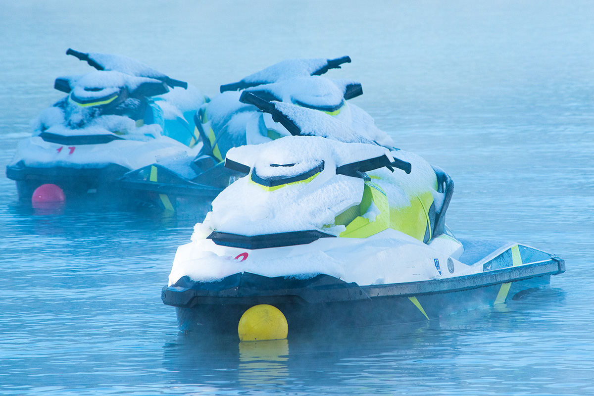 Winter is not the best time to buy a jet ski