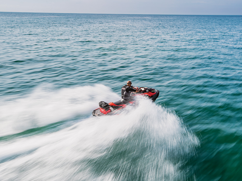 Performance watercrafts are not recommended for first-time buyers (Picture: Sea-Doo RXT-X 300)