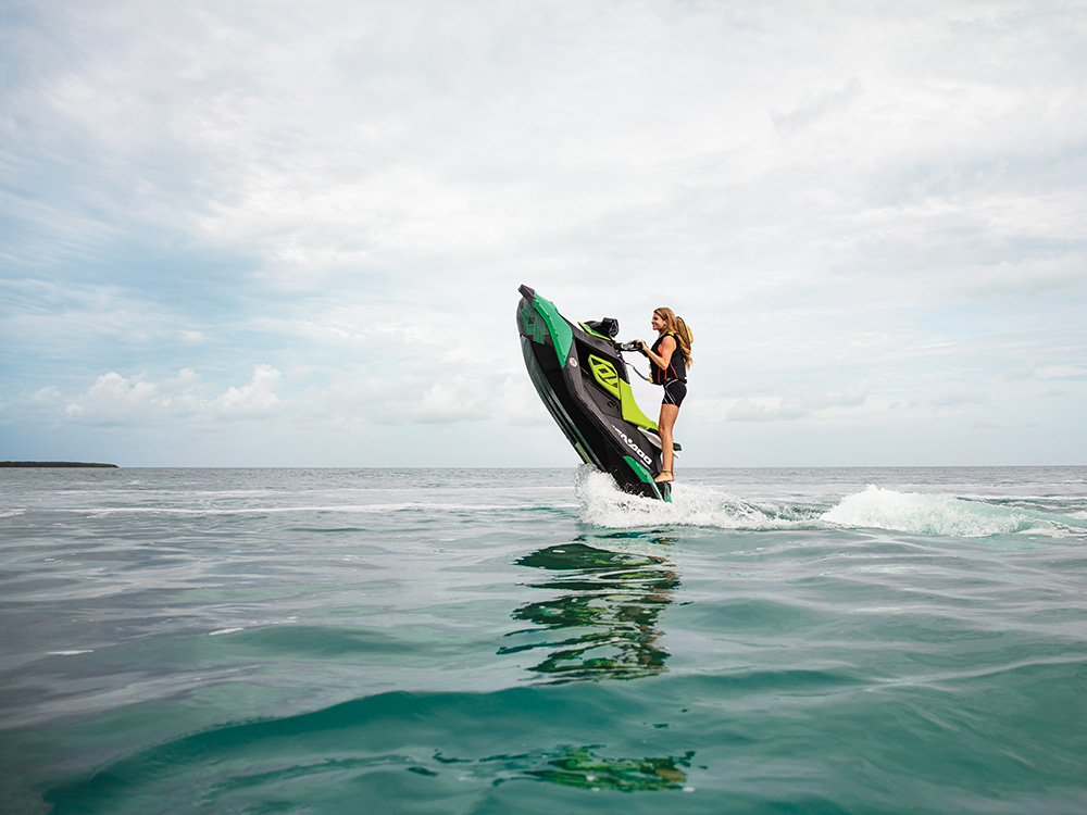 Sea-Doo Spark TRIXX is a lot of fun to ride - but it's really nimble