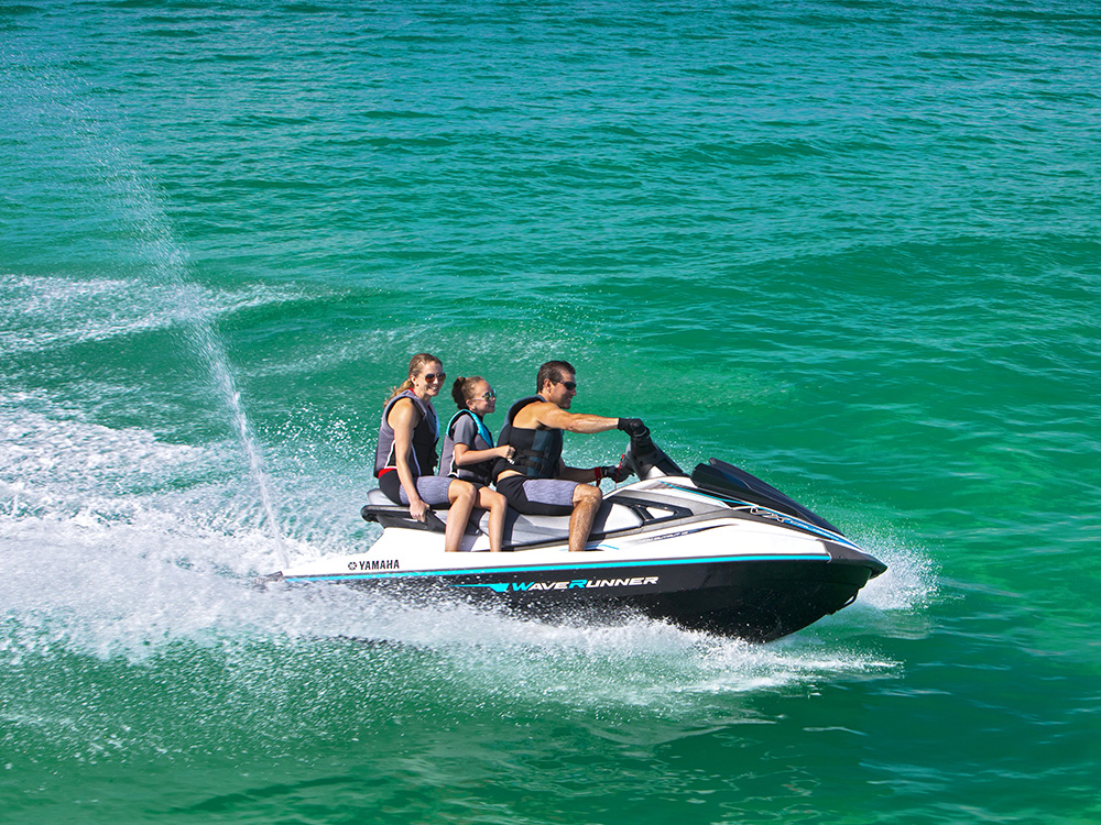 Yamaha WaveRunners still use open loop cooling system