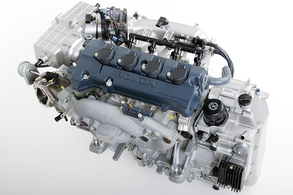 Honda AquaTrax turbo engine: the world's first 4-stroke, turbocharged concept