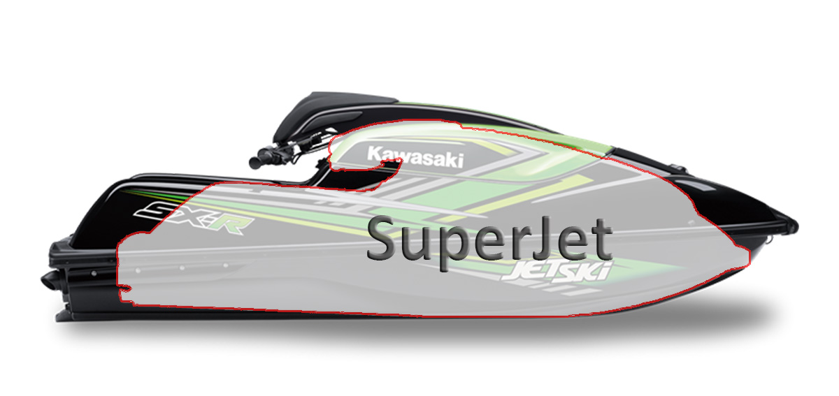 Yamaha Superjet vs. Kawasaki SX-R Jet Ski comparison