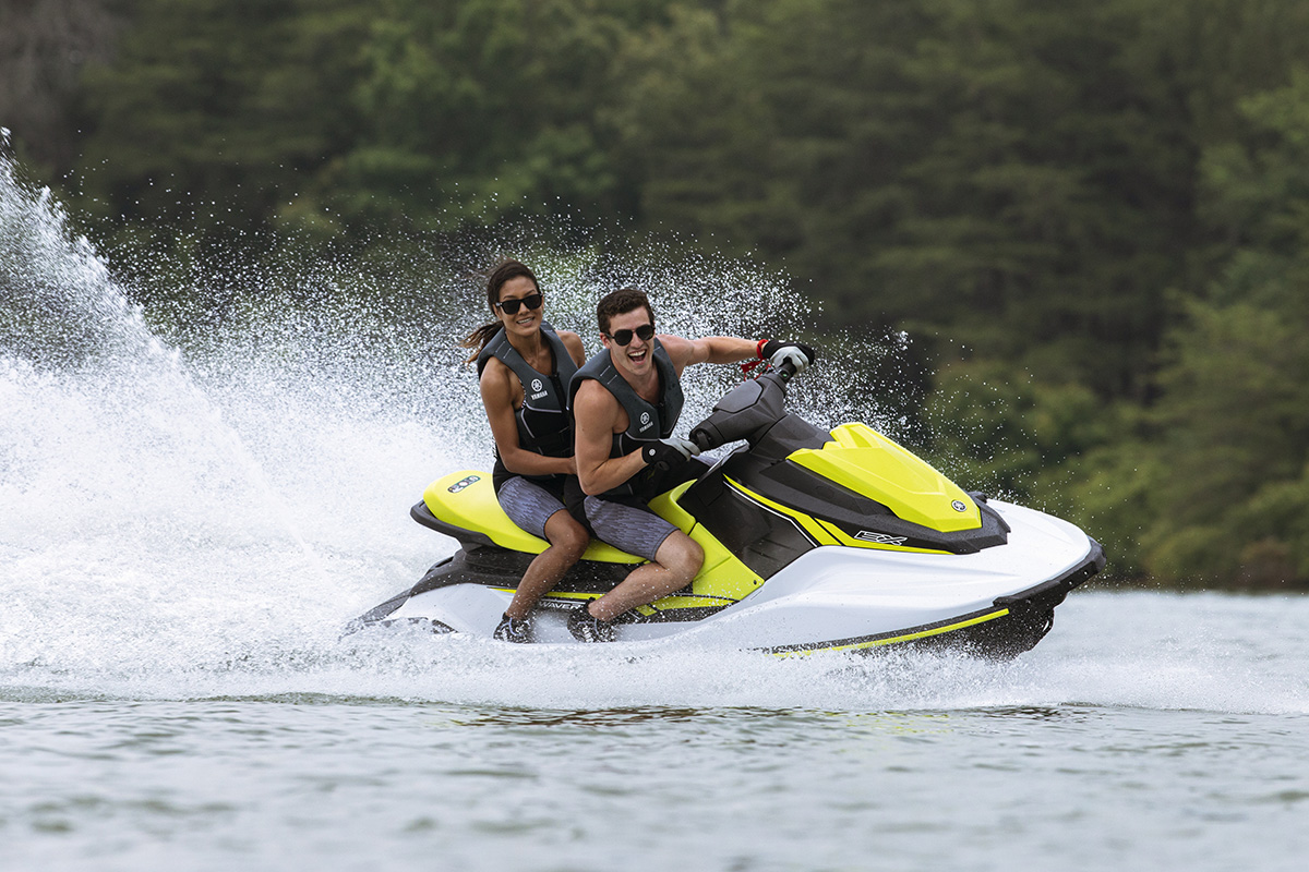 Yamaha EX is the most affordable WaveRunner model available