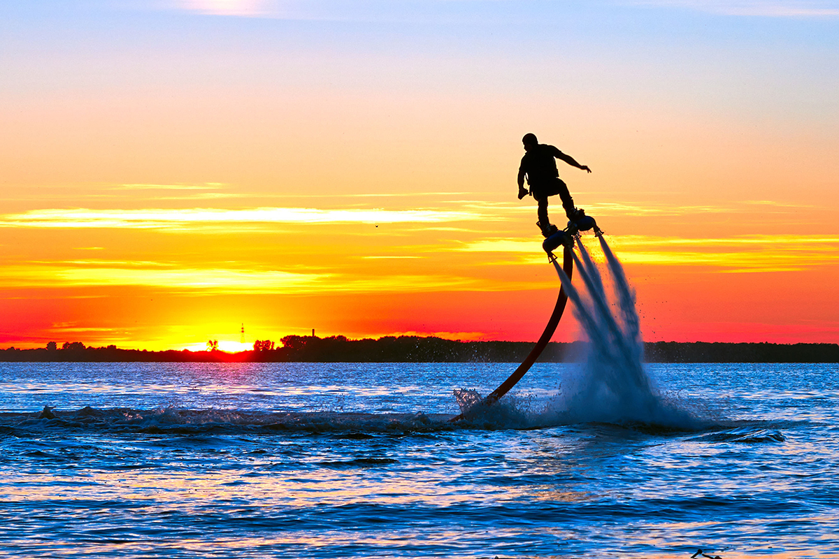 Rent a flyboard from Jet Ski Maui!