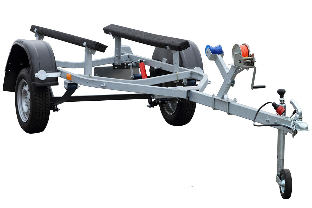 Single jet ski trailers can accommodate 1 craft