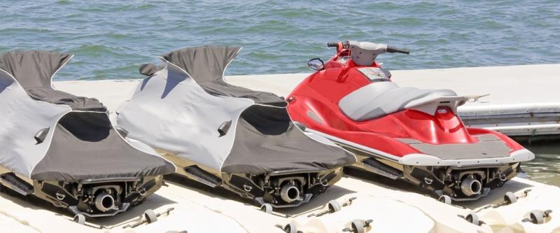 Jet ski storage accessories