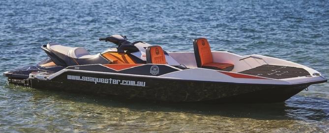 Jet ski to boat converter