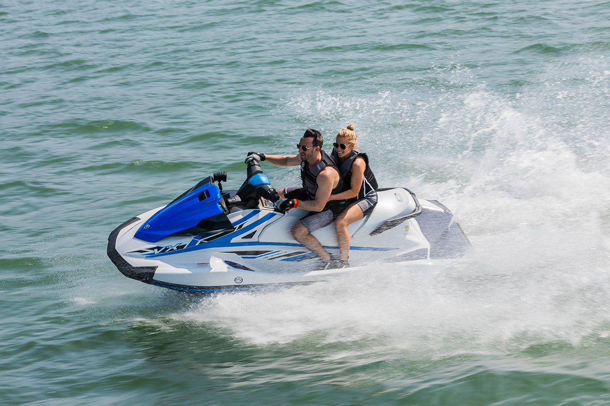 Yamaha VX line - the most reliable WaveRunners on the market