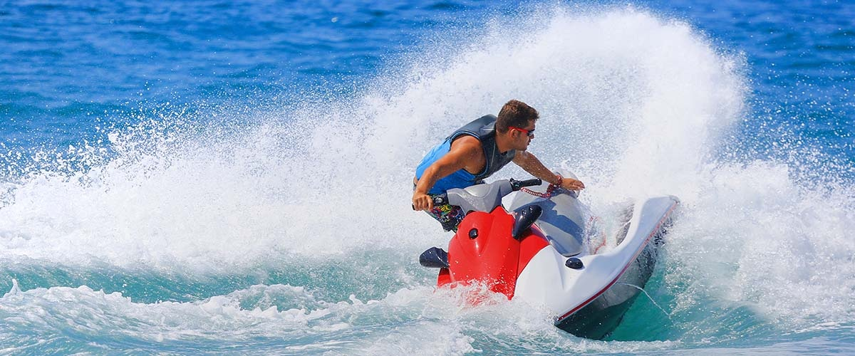 Best sit down jet ski tricks