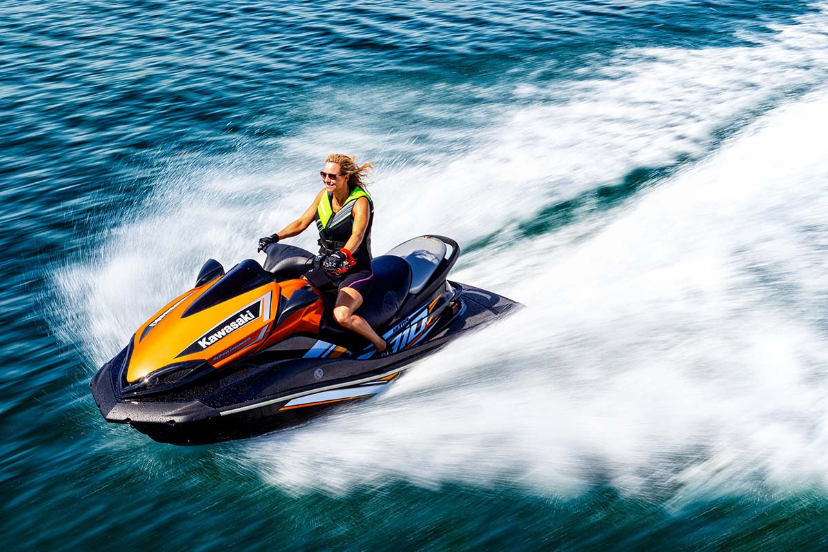 Kawasaki Ultra 310X Jet Ski top speed: 67 mph