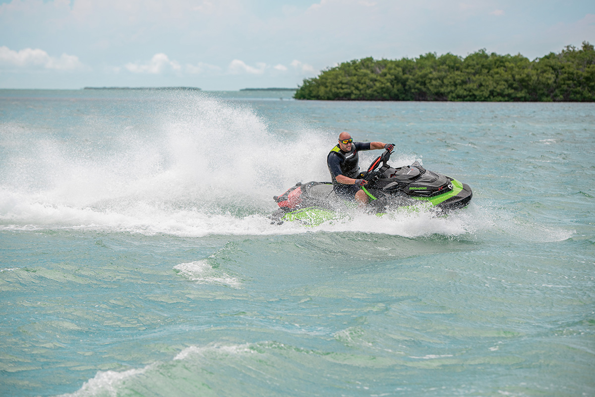 Sea-Doo RXP-X 300 top speed: 67 mph