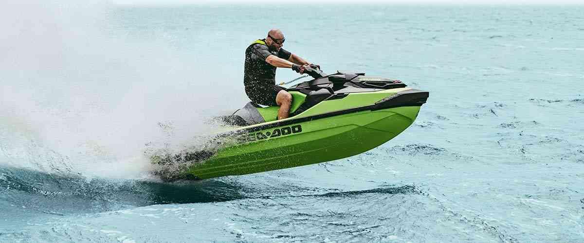sea-doo top speed chart