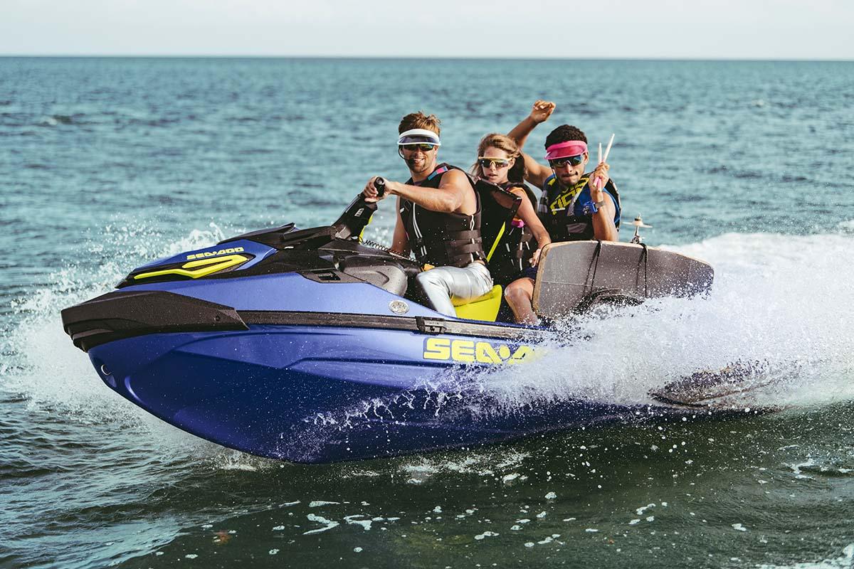 2020 Sea-Doo Wake Pro 230 top speed: 67 mph