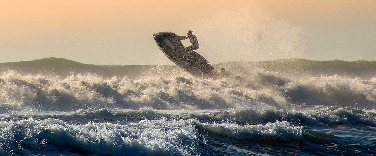 jet ski wave jumping dangerous