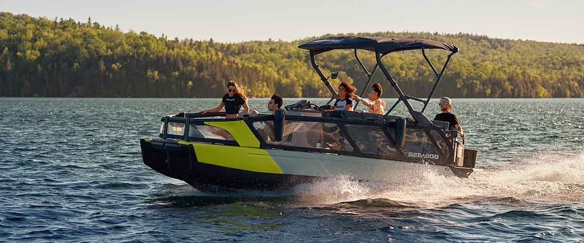 sea-doo pontoon boats